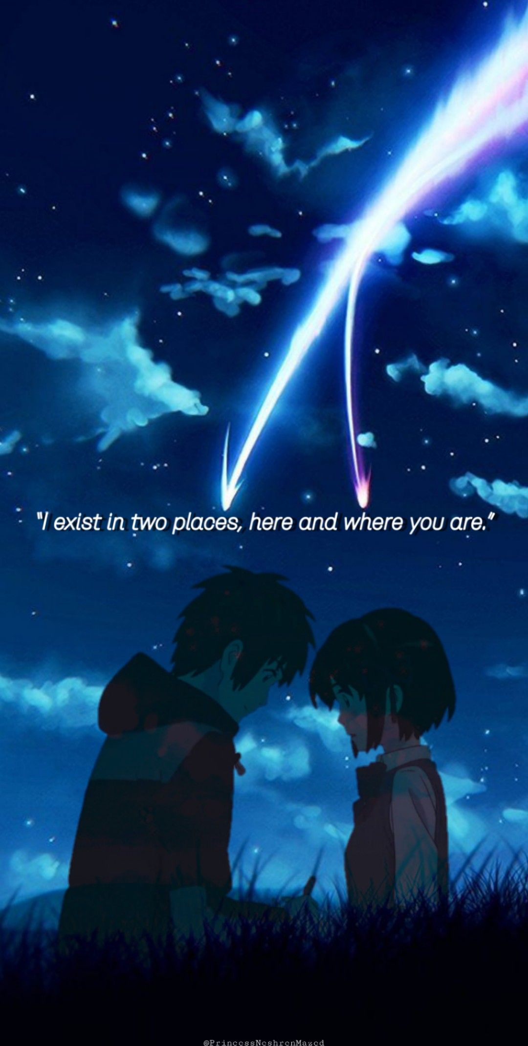 Your Name wallpaper (Taki x Mitsuha)