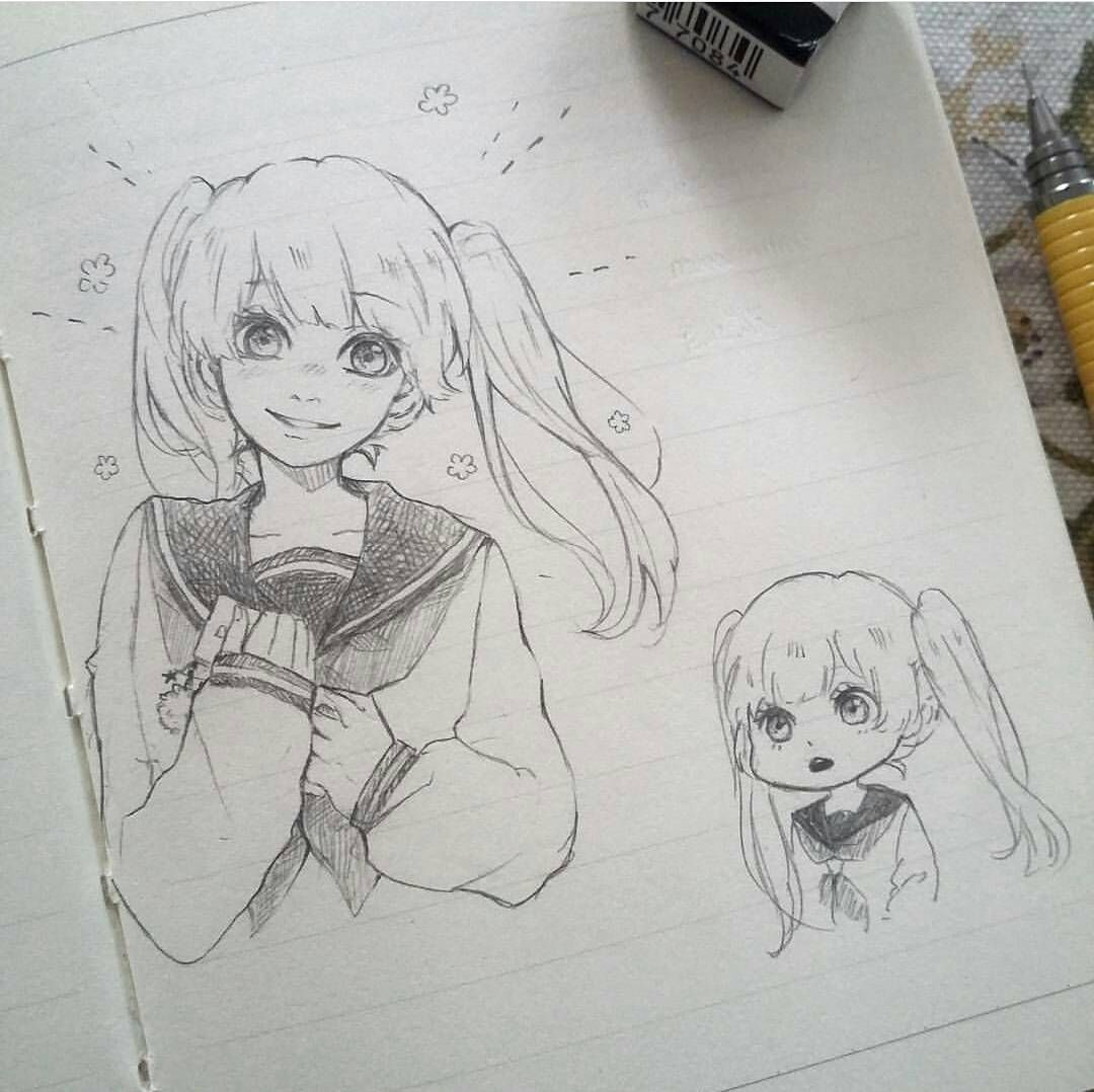 Kawaiidesu Japan Anime Drawings Sketches Anime Sketch Cute Drawings
