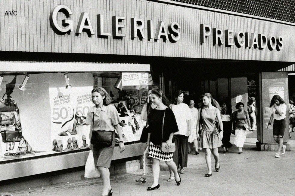 Galerias preciados en la calle preciados 1979 madrid for Corte ingles preciados