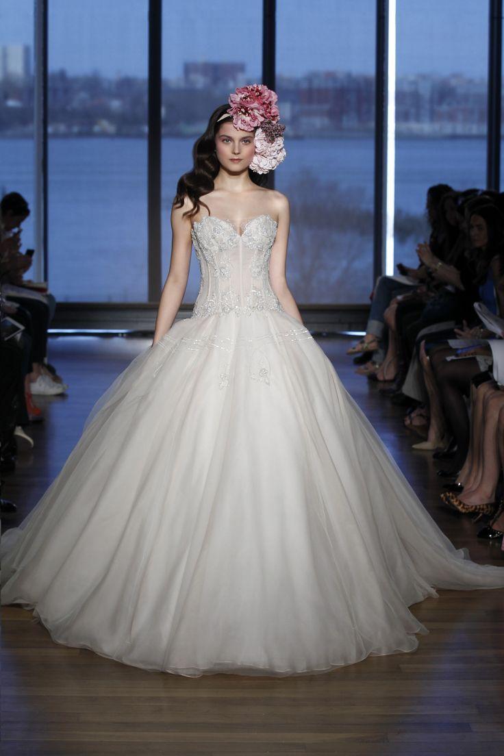Ball Gown Wedding Dresses : \'Lucianna\' Dramatic Victorian ball gown ...