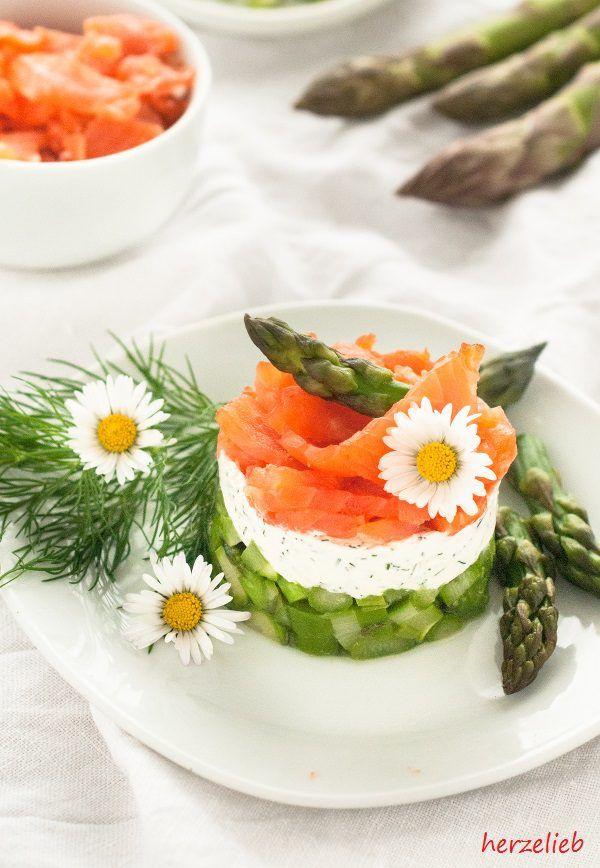 spargel salat mit forelle geschichtet ein tolles farbenspiel salat rezepte die lieblinge. Black Bedroom Furniture Sets. Home Design Ideas