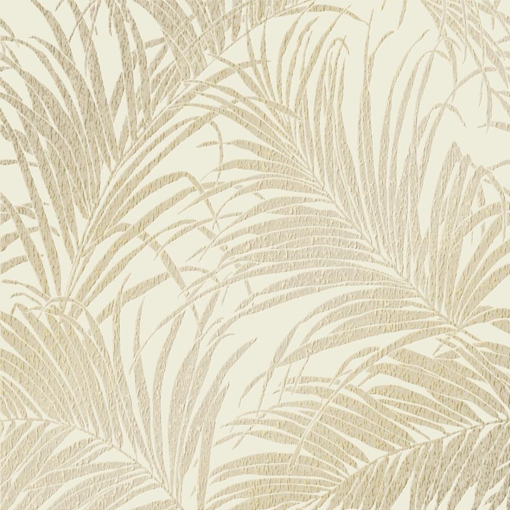 Sapphire Palm Leaf Wallpaper Cream Gold Palm Leaf Wallpaper Leaf Wallpaper Cream And Gold Wallpaper