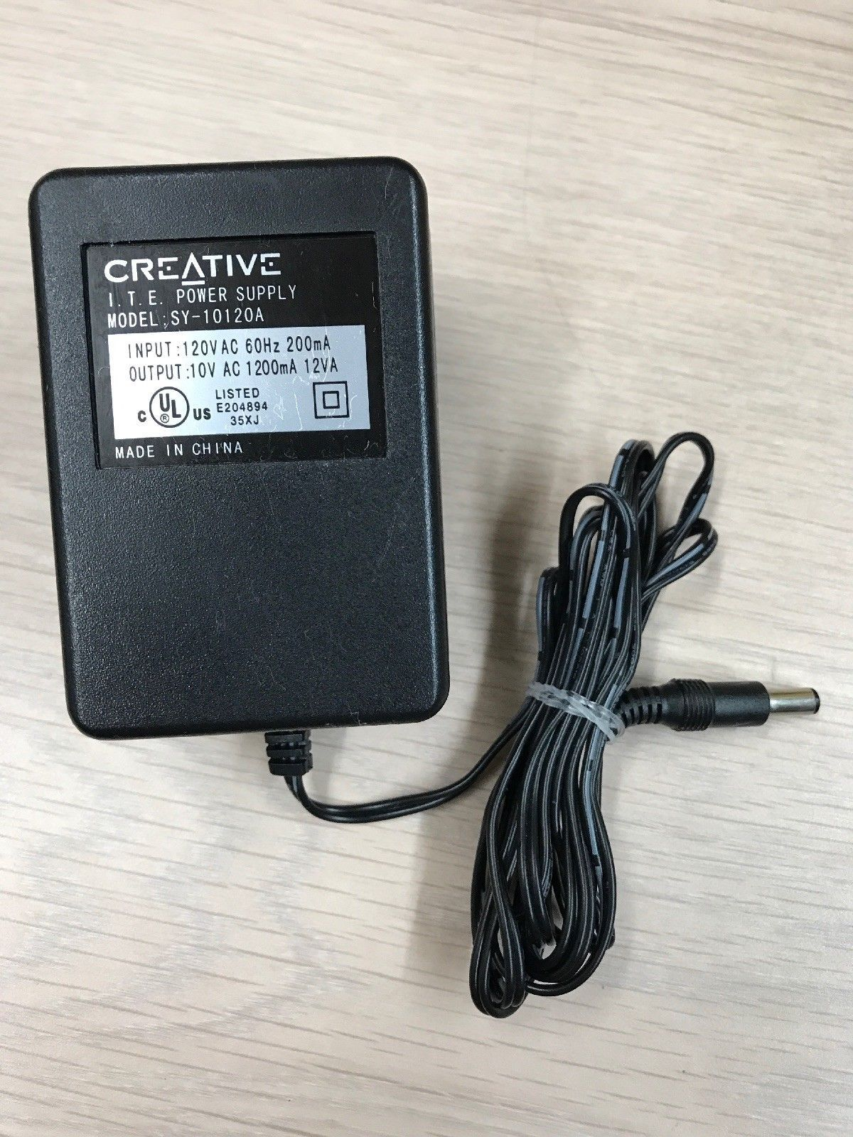Brand New Creative 10vac 1200ma 12va Ac Ac Adapter For Sy 10120a Power Supply Charger Power Supply Charger Adapter