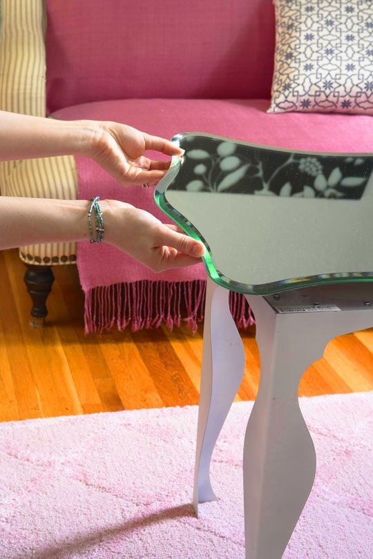 Do It Yourself Decorating Ikea Table Legs Mirrored Coffee