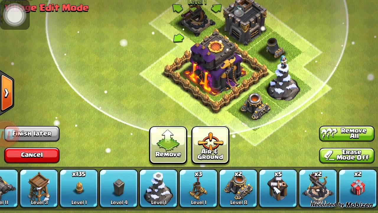 nice Clash clans hack .. apk No root no survey no compur