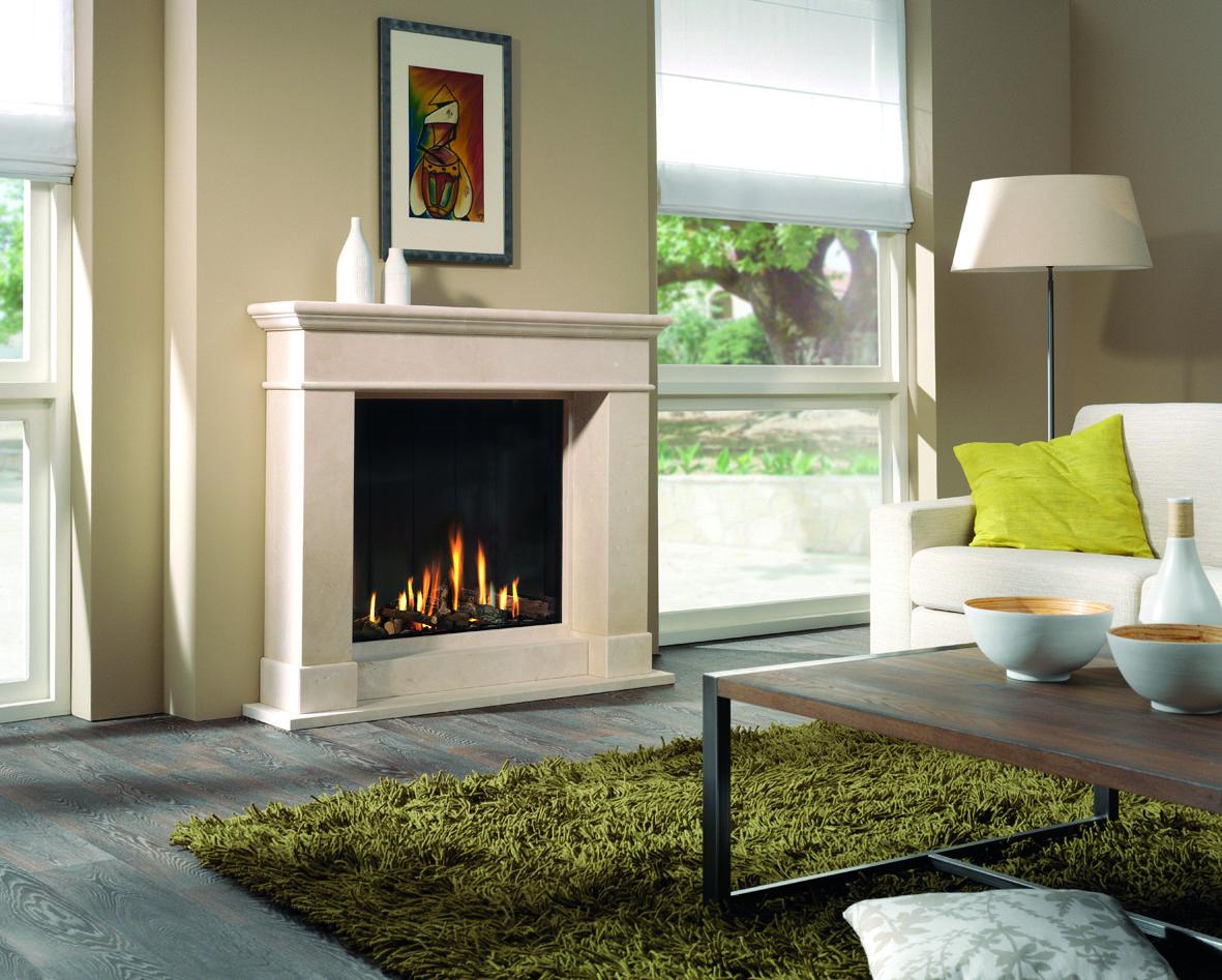 Gaskamin Von Rüegg #Gaskamin #gas Fireplace #Kamin #Heizkamin #Ofen # Wohnzimmer