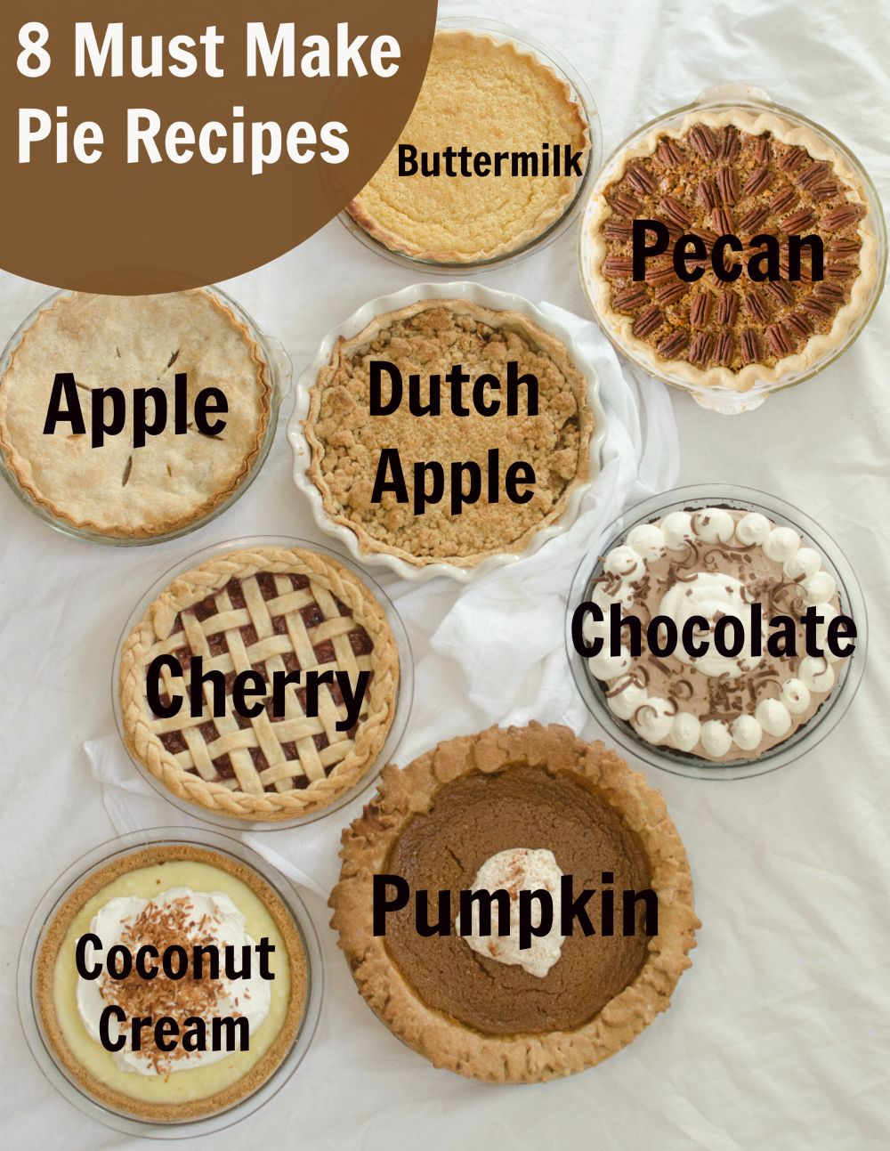 8 Must-Make Pie Recipes for Your Holidays — Bless this Mess