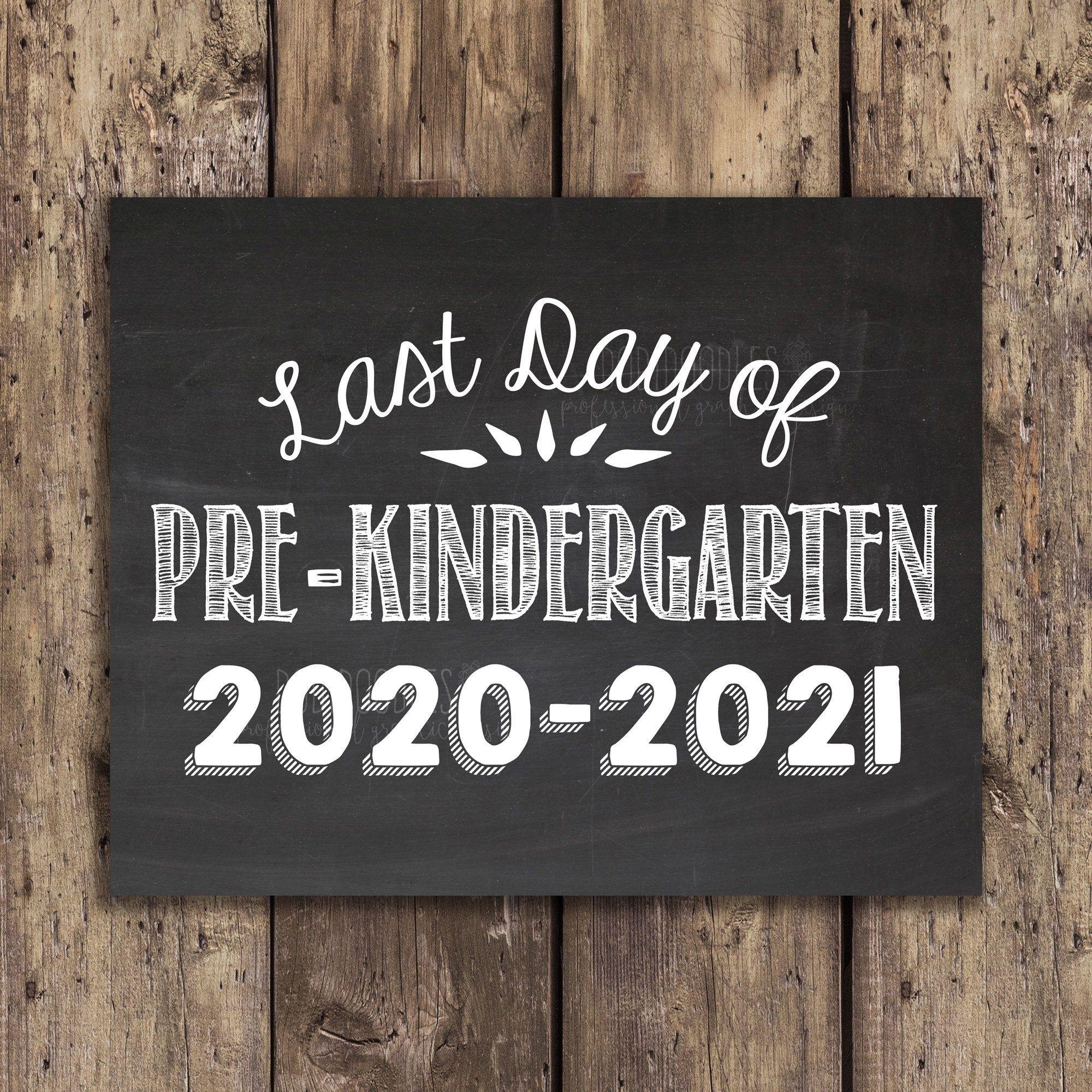 Last Day Of Pre K Pre Kindergarten