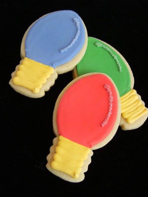The 60 Most Delish Sugar Cookies Christmas lights, Sugar cookies
