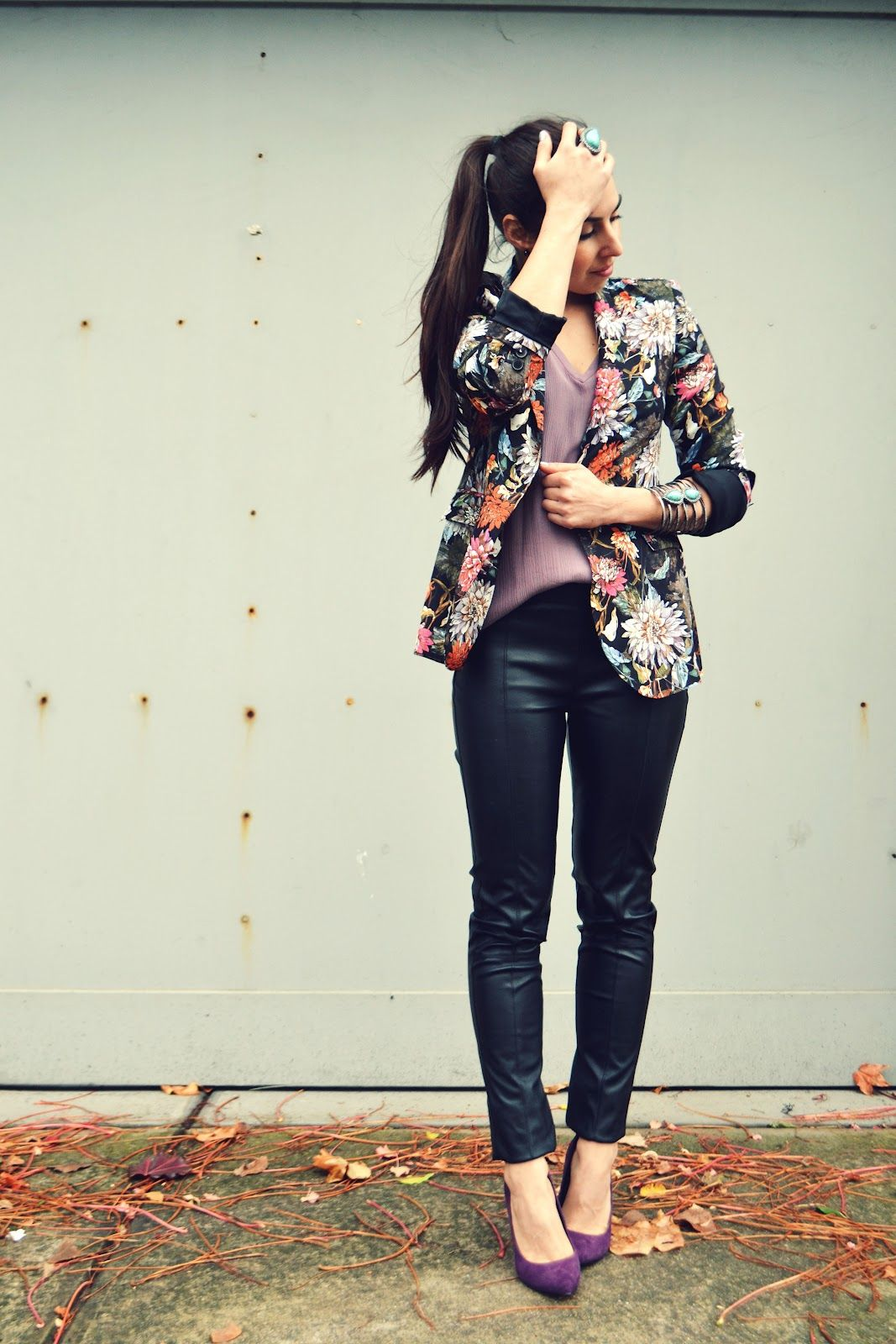 love this, especially the shoes!    Michelle's Style File | Melbourne fashion blog | Australian street style
