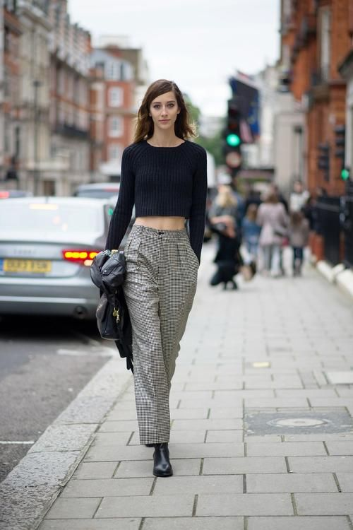 A Tiny Dose of Crop Top Sweaters to Spice Your Style Up! | Street ...