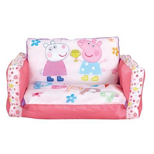 Sofá Peppa Pig http://www.licenciasinfantiles.es/p.27017.0.0.1.1-sofa-peppa-pig.html