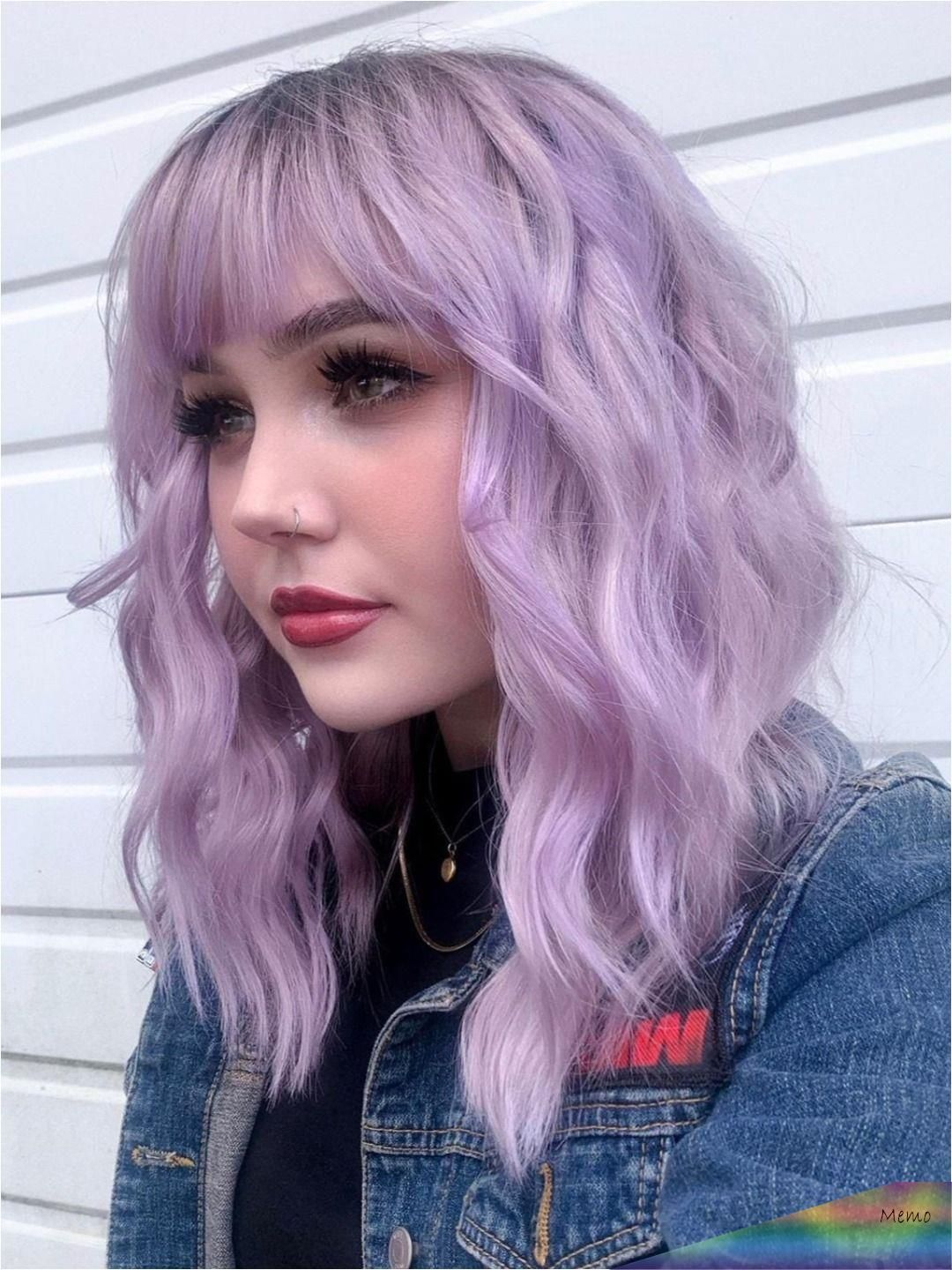 May 26 2020 This Pin Was Discovered By Nina Mori Discover And Save Your Own Pins On Pinterest In 2020 Light Purple Hair Hair Inspo Color Aesthetic Hair