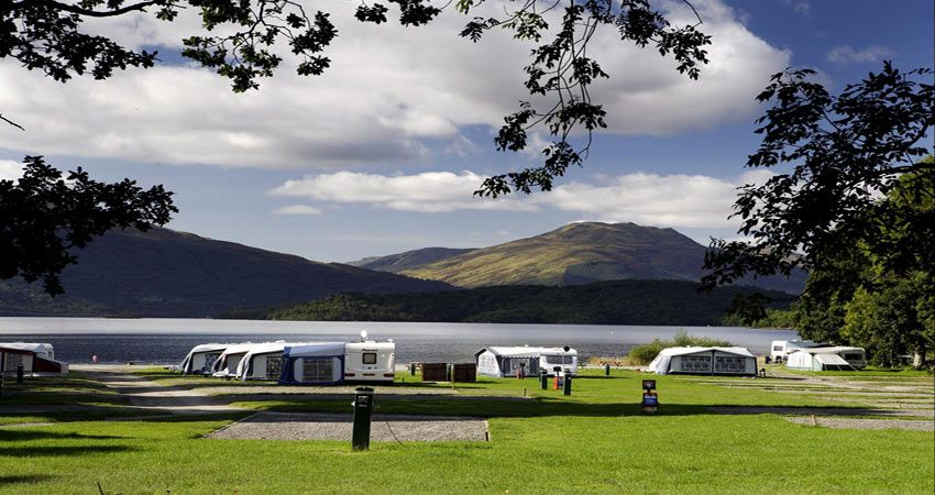 Fully serviced pitches | Best Campsites in Cashel, Co. Tipperary