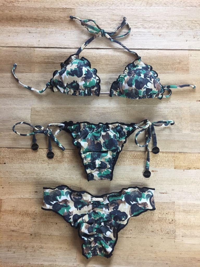6048046f76ce Triquíni ripple Camuflado | moda praia em 2018 | Pinterest | Bikinis ...