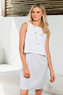 3fe43285acf Capture Linen Dress
