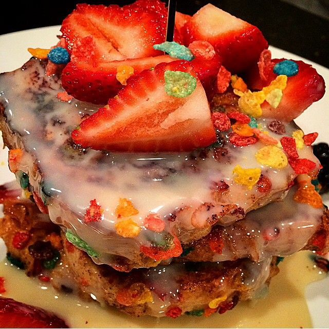 Fruity Pebbles French Toast | Bosscat Kitchen & Libations, Newport ...