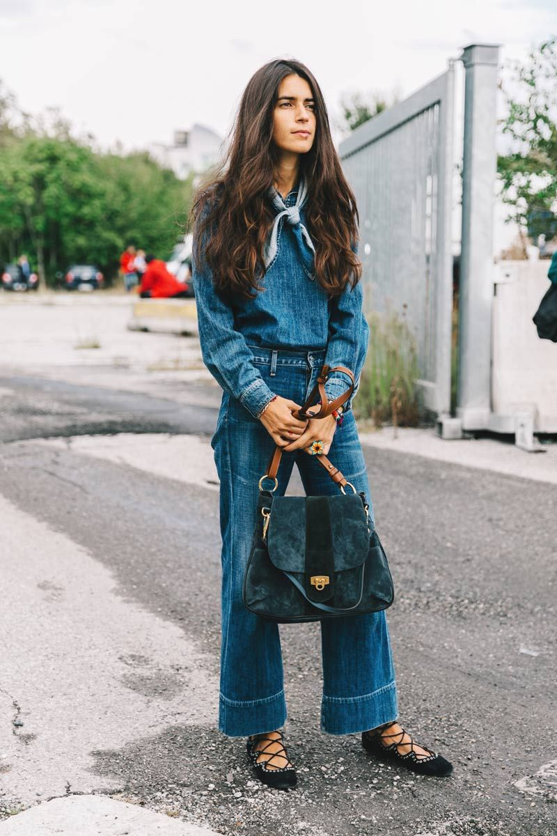 Street Style : double denim dressing || Saved by Gabby Fincham ||