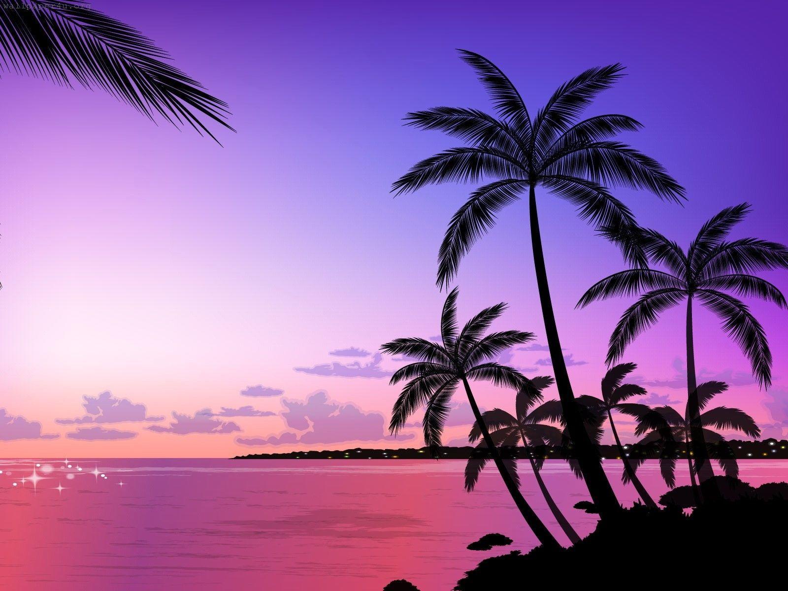 Beach Sunset Wallpaper Desktop Images Of