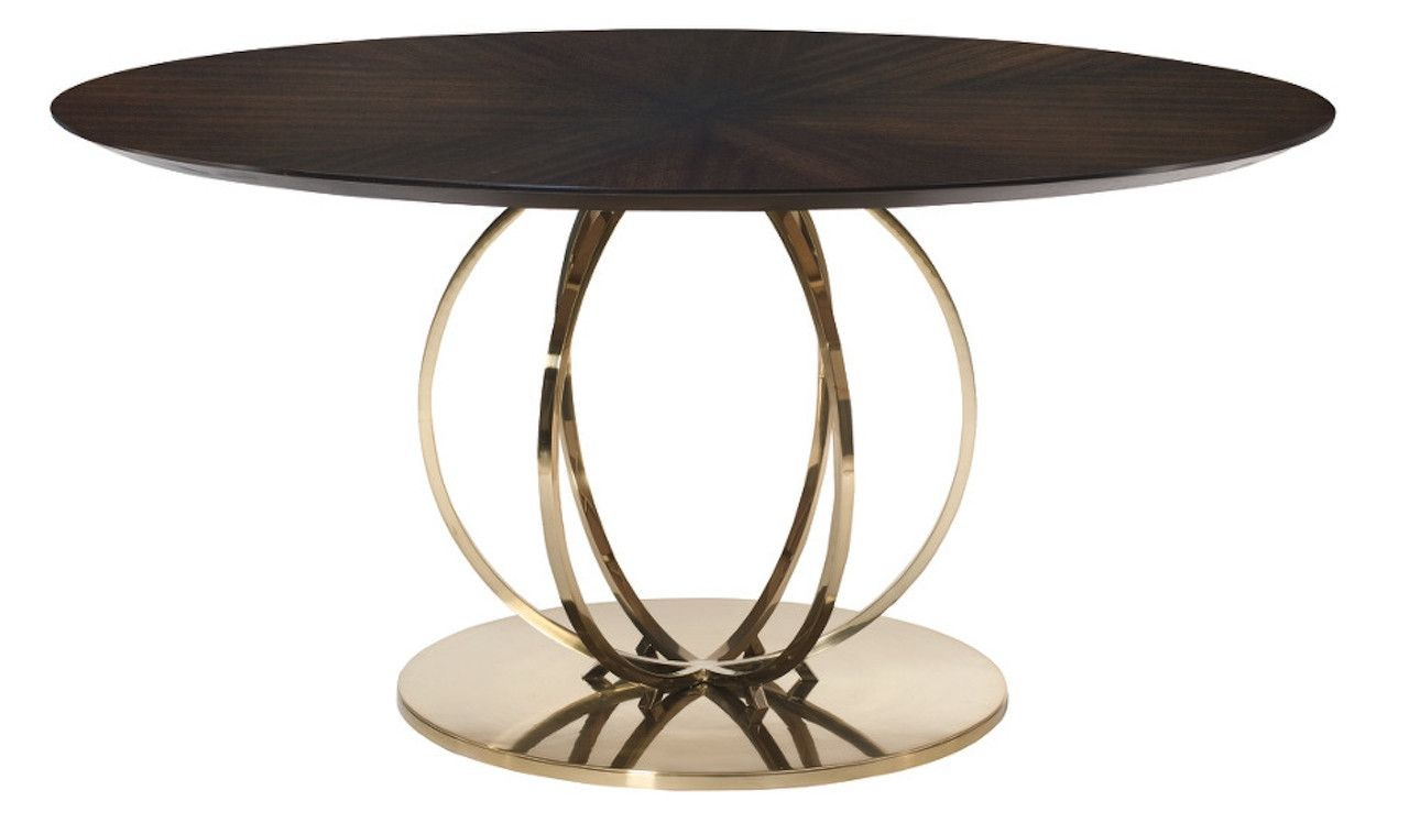 Sabine Modern Parquet Top Round Pedestal Table Metal Round Dining Table Round Dining Table Metal Dining Table