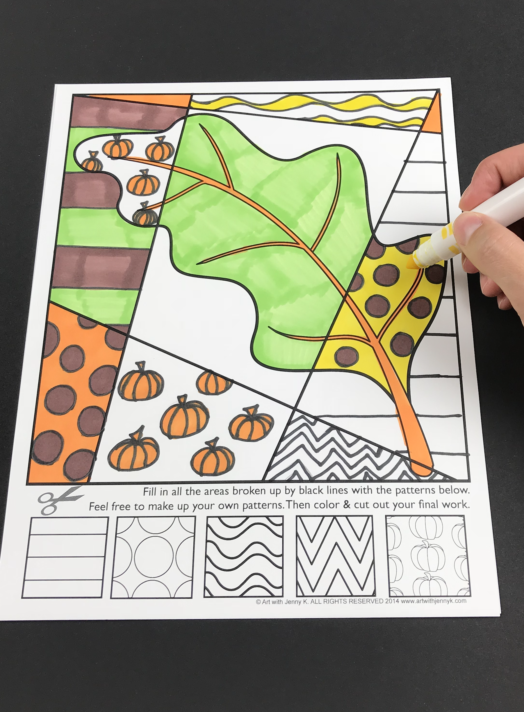 Fall Interactive Coloring Pages For Students And Teachers Art Lessons For Kids Art Projects Kids Art Projects