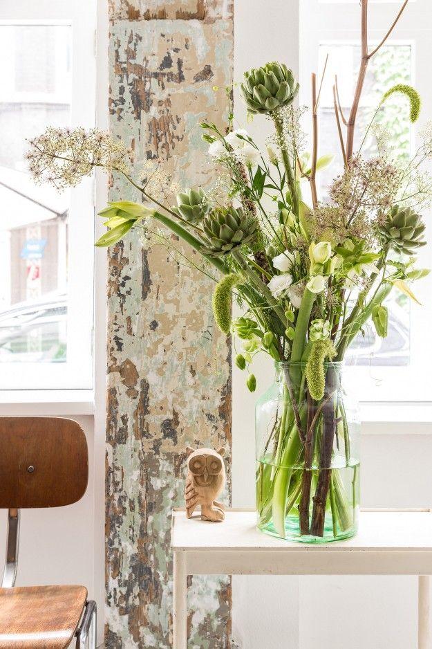 Stylen met bloemen en vazen | Fotografie & styling: Bloomon | Stek Magazine | Woonideeën