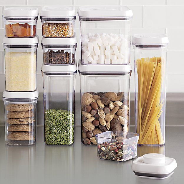OXO ® 10 Piece Pop Container Set   Crate And Barrel