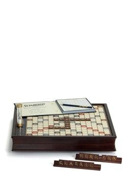 Scrabble Deluxe Edition Gifts For Me 3 Wooden Board Games