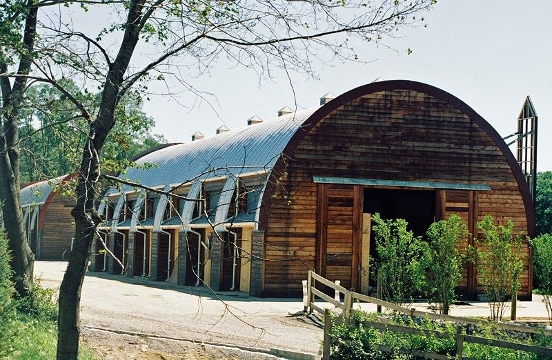 Best Steel Arched Roof Curved And Clear Span Roof 400 x 300