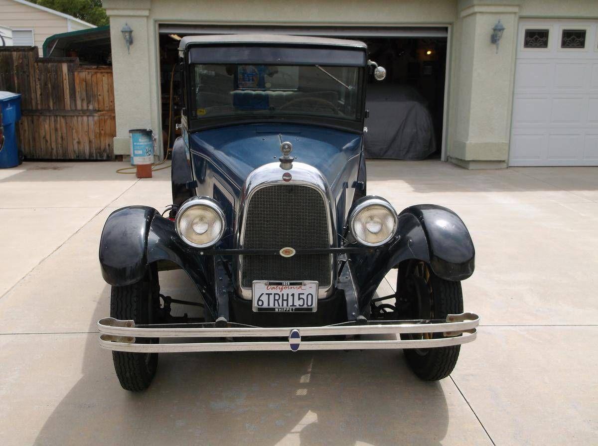 1928 Willys Overland Whippet Veteranbilar
