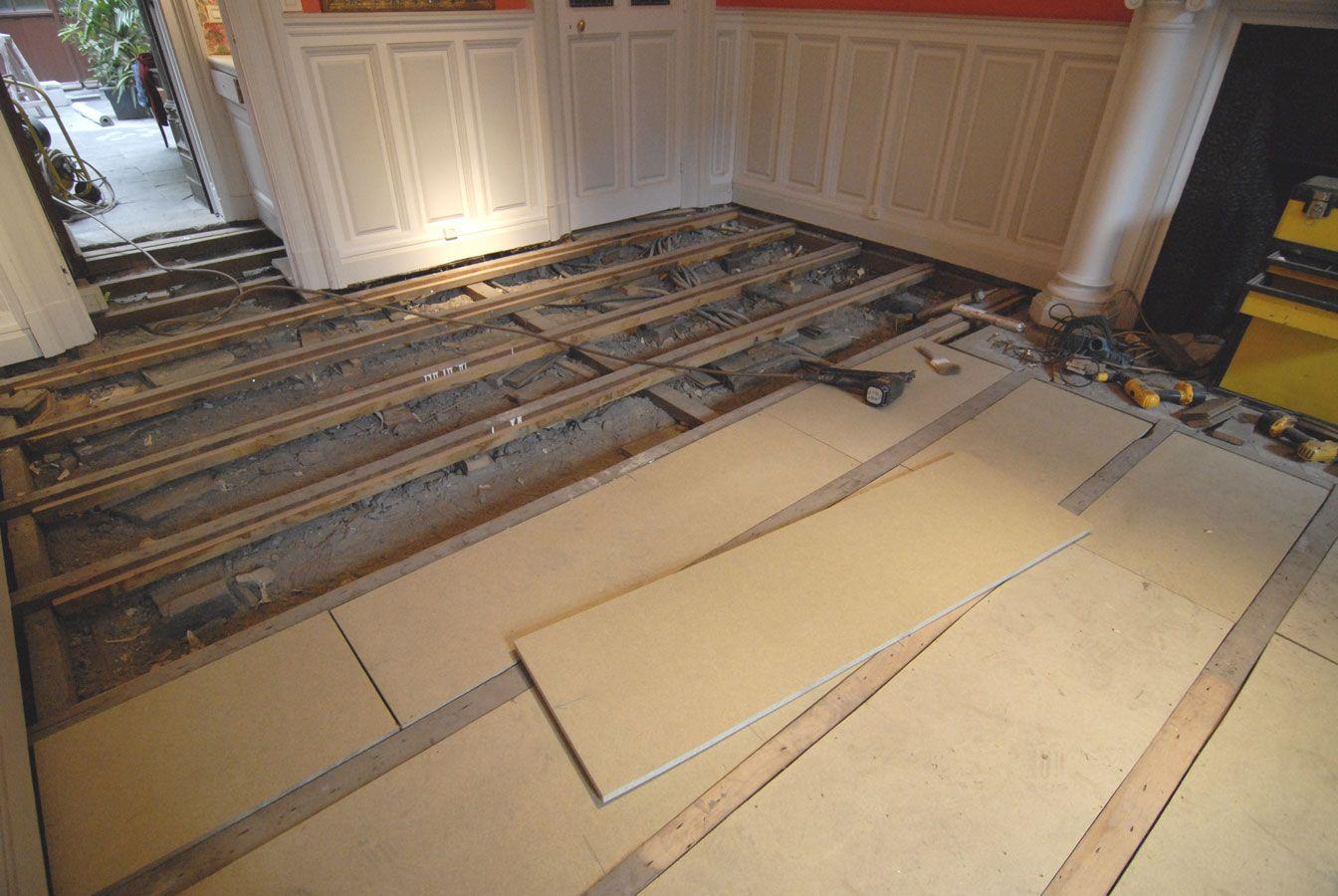 Plancher Interm Diaire Renovations Pinterest Parquet Massif  # Plancher De Grange Ancien
