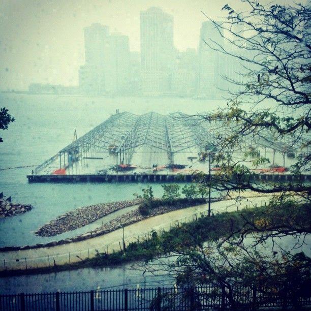 Brooklyn Heights Promenade. #sandy #hurricanesandy