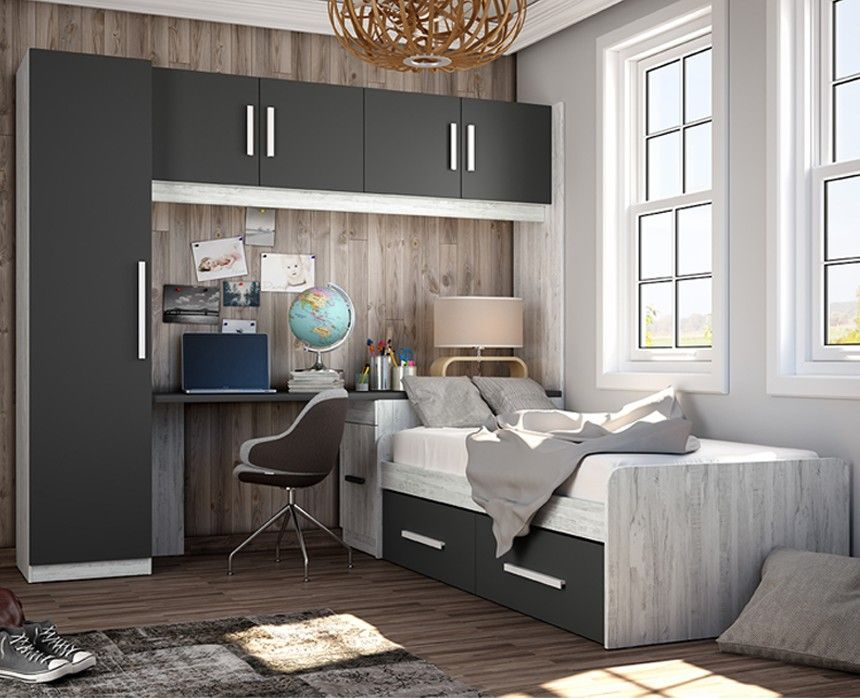 Dormitorio juvenil moderno 109 dormitorios juveniles - Dormitorios modernos juveniles ...