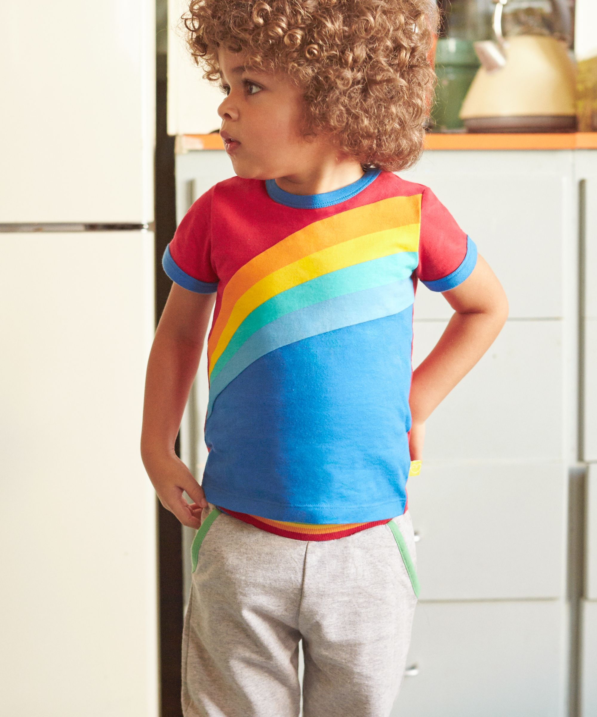 cf222e239 Little Bird by Jools Rainbow T-Shirt | Rainbow clothes | Little bird ...