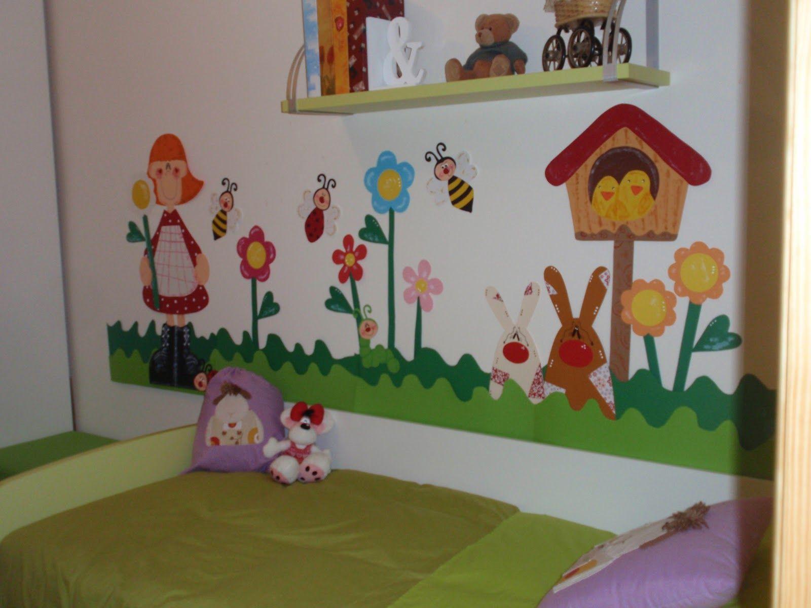 Como decorar una puerta de primavera buscar con google for Decoracion hogares infantiles