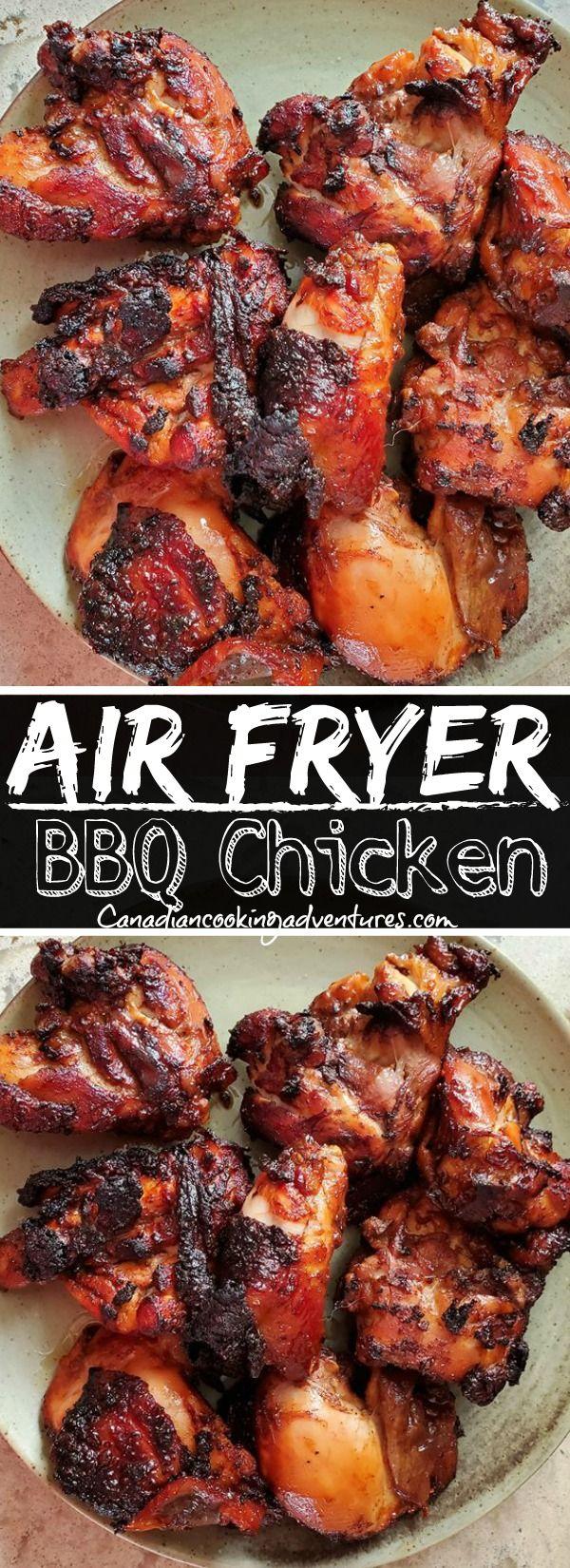 Air Fryer Bbq Chicken in 2020 Air fryer recipes easy