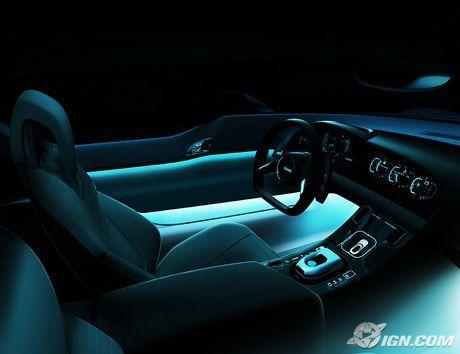 saab aero x ign custom car interior