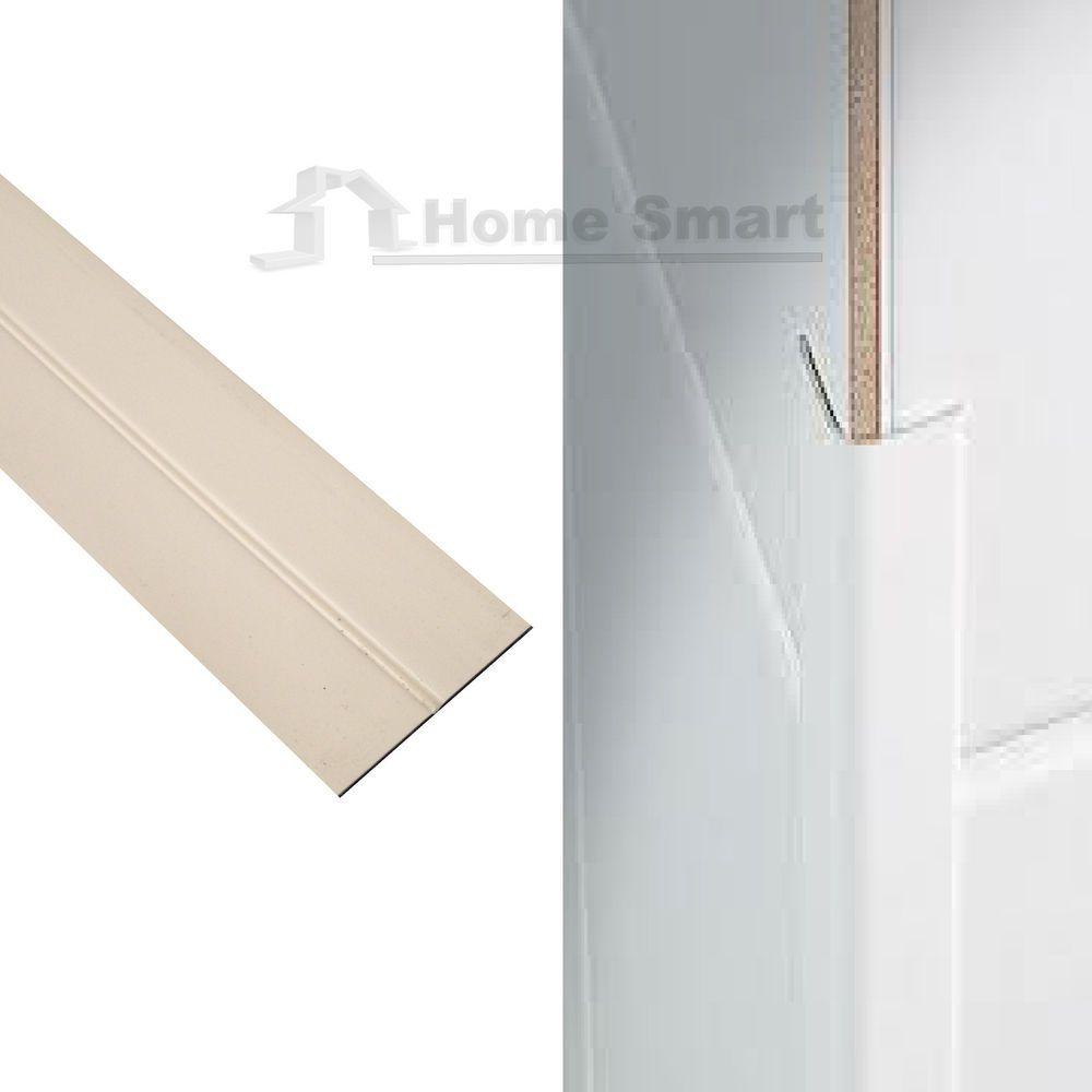 Cream Corner Wall Protector Protection Plastic Flexi Angle 35mm X