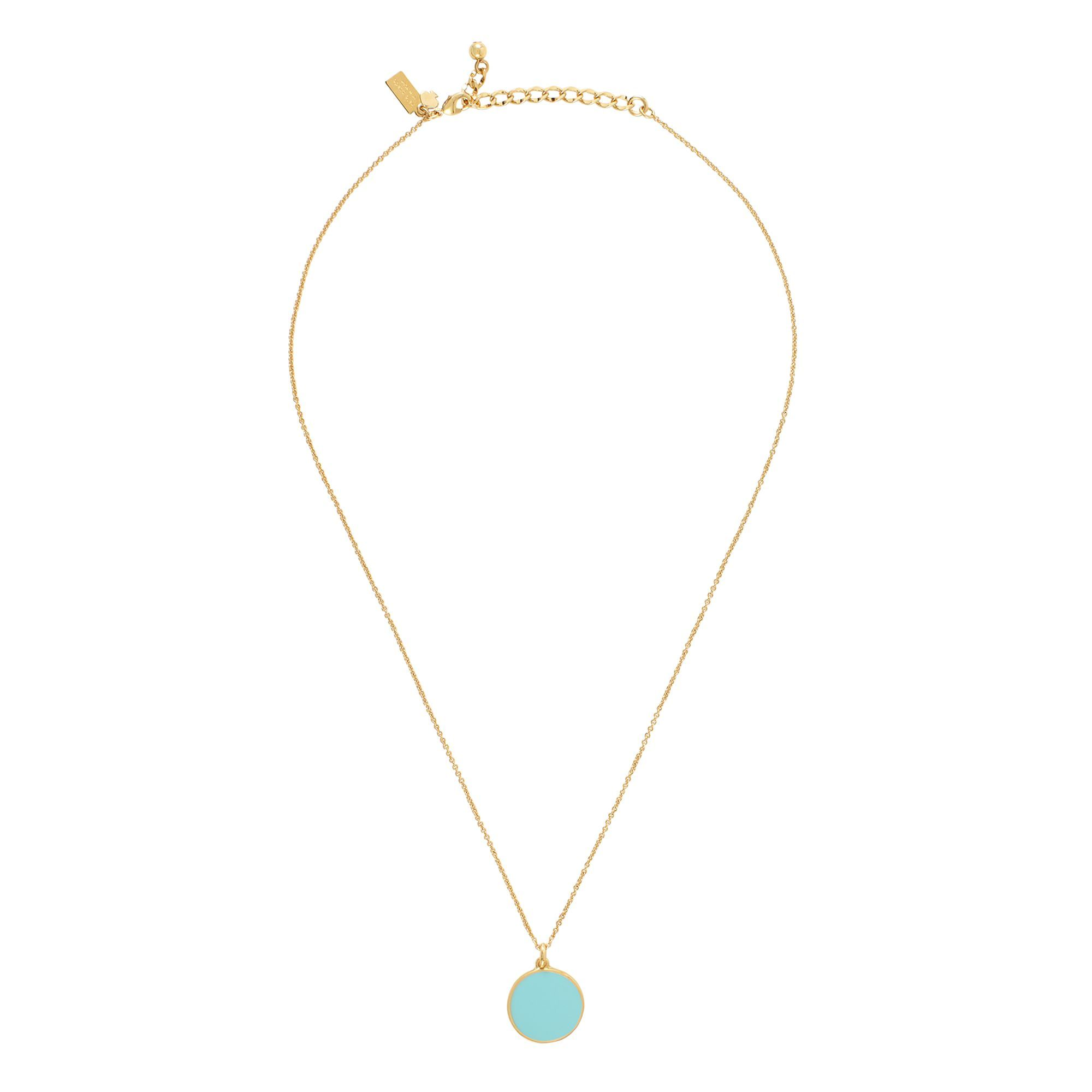 Kate spade something blue pendant necklace my style pinterest