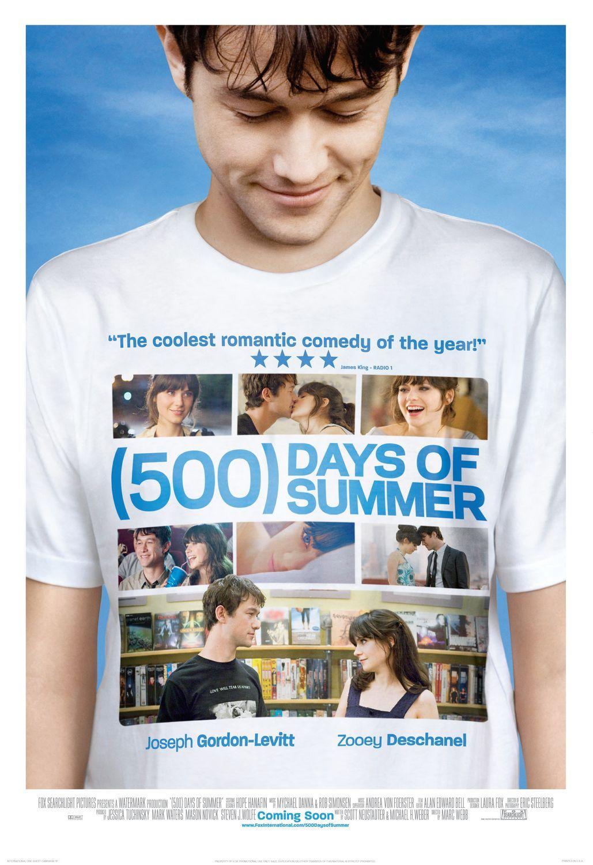 Romantic Comedies 500 Days Of Summer 500 Dias Com Ela Filmes