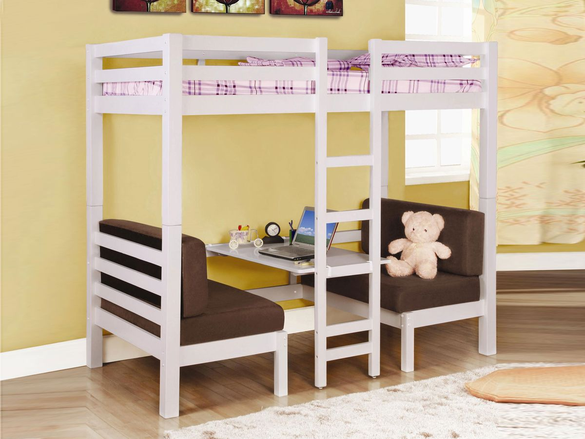 Low loft bed with stairs and storage  Loft Bed  Fortunate Loft Bed Great concept DIY project  add