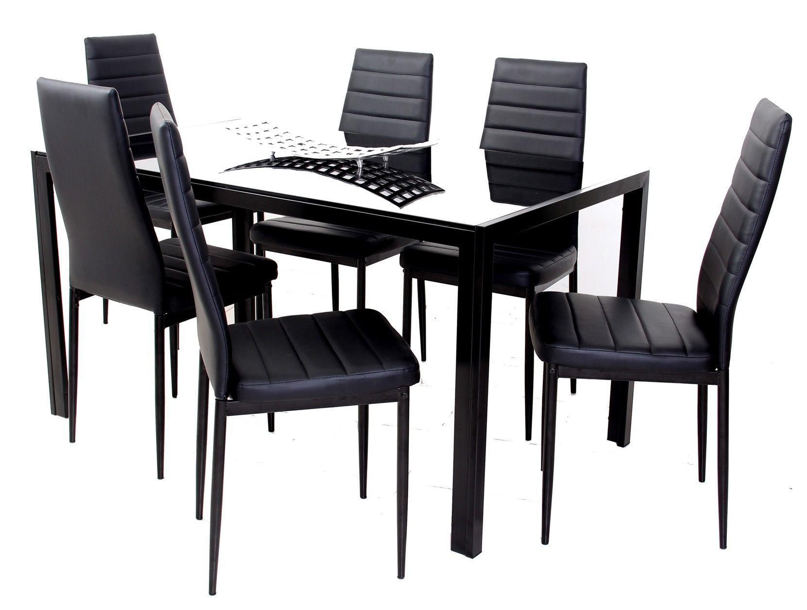 Commodity juego de comedor mia 6p 6 sillas for Comedores 6 sillas