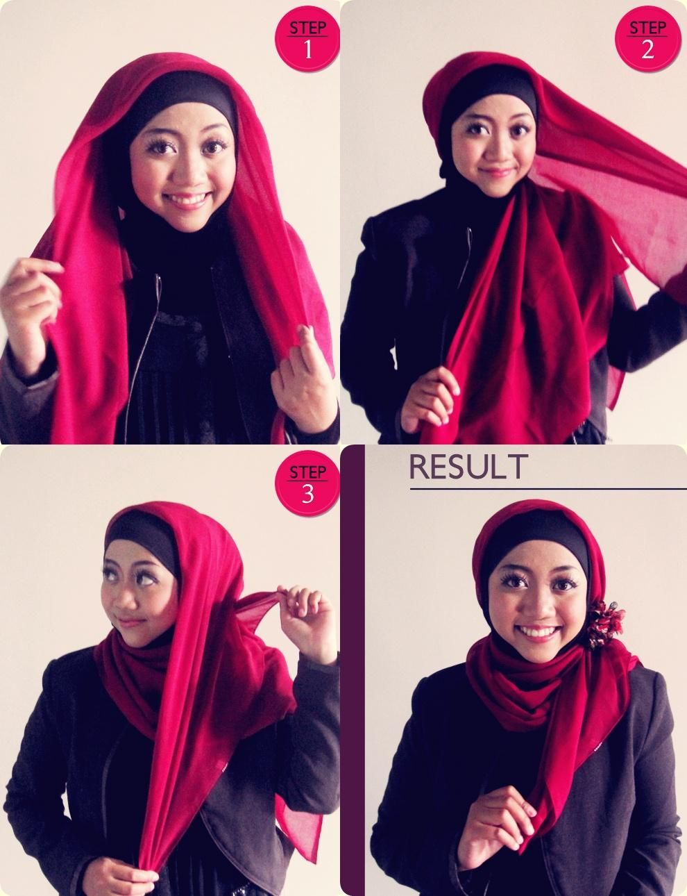Tutorial Hijab Praktis 4 Dorie Shop Tutorial Hijab