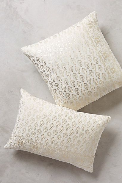 Arbor Floret Pillow #anthropologie