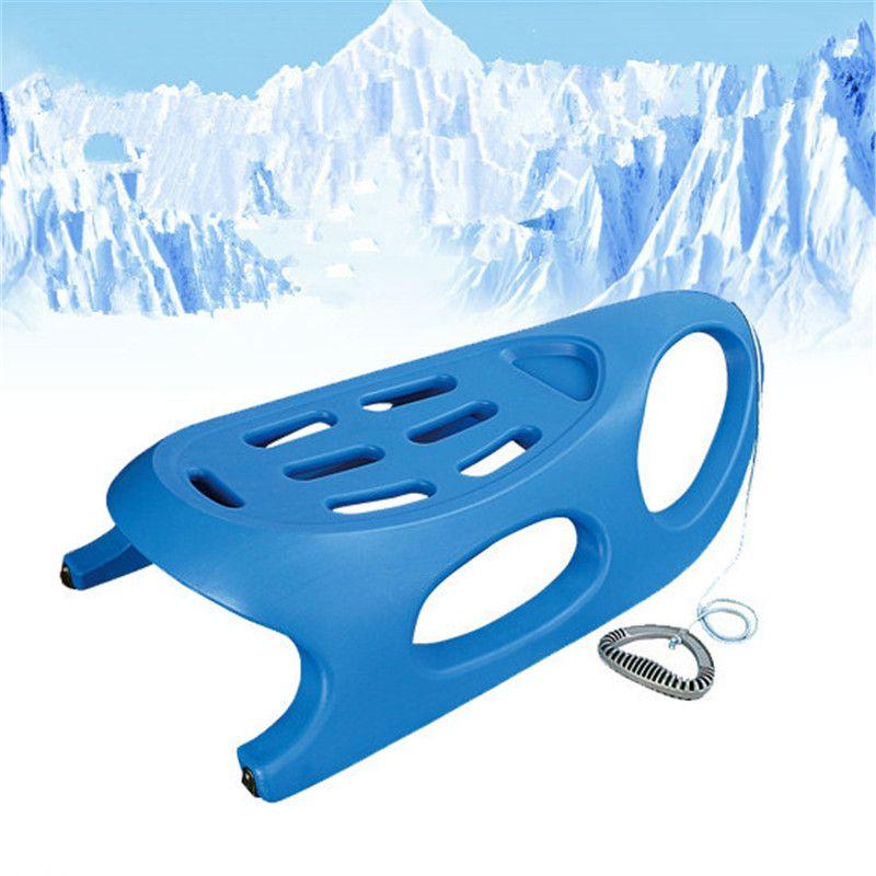 Slitta della neve Per L'uso Su Snow & Erba, neve Slitta della Germania Sleder Nudo Neve Slittino Campionato XQ19