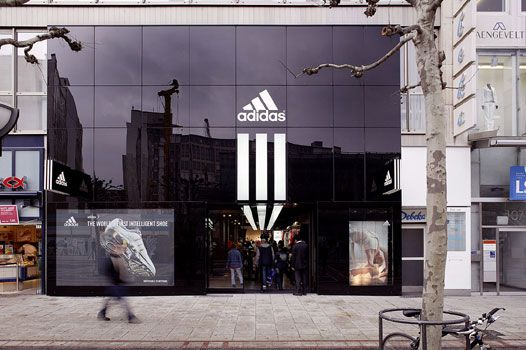 Adidas store exterior google search project adidas for Exterior design of a retail store