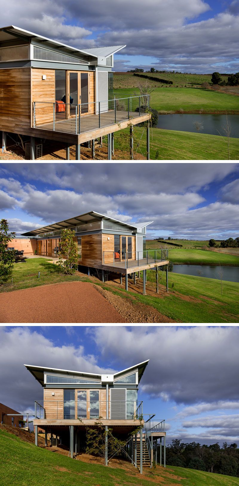 This Australian Weekender House Has A Distinctive