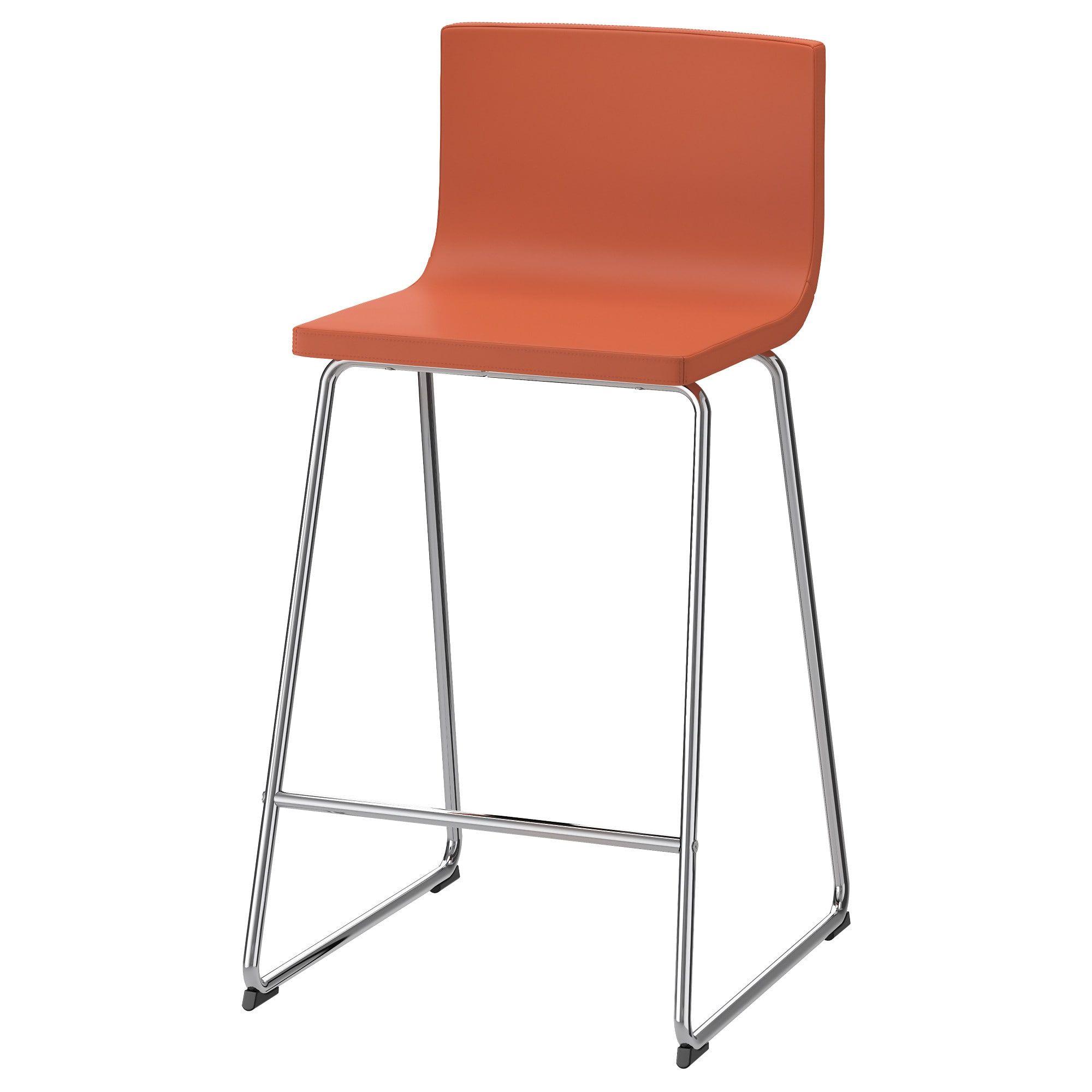 Bernhard Bar Stool With Backrest Ikea Ikea Barstools Bar
