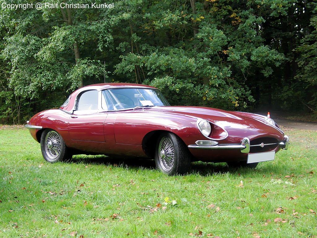 Jaguar e type v12 hardtop roadster baujahr 1968 gro britannien