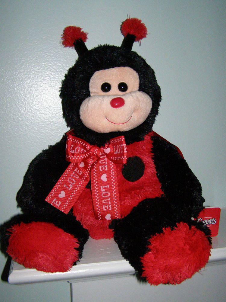 "2011 Kids of America Ladybug Plush Toy 17"" KidsofAmerica"